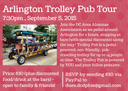 Arlington Trolley Pub Tour
