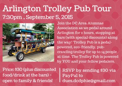 Arlington Trolley Pub Tour